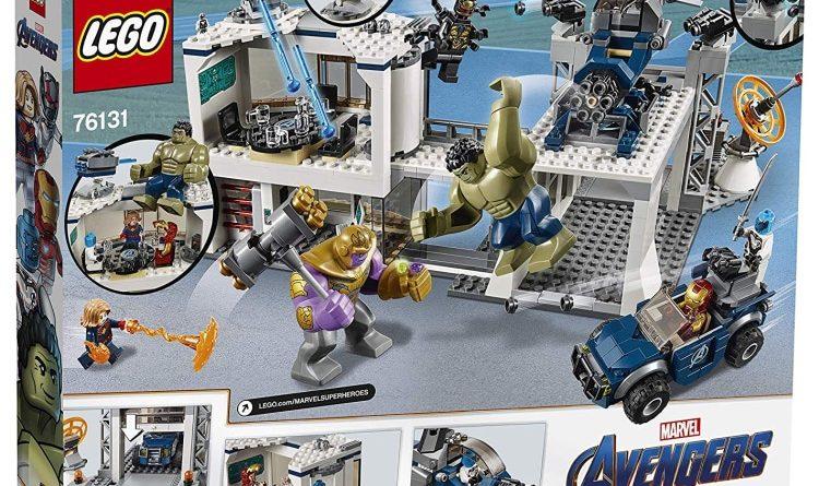 LEGO Marvel Endgame 76131 Avengers Compound Battle Box Back 750x445