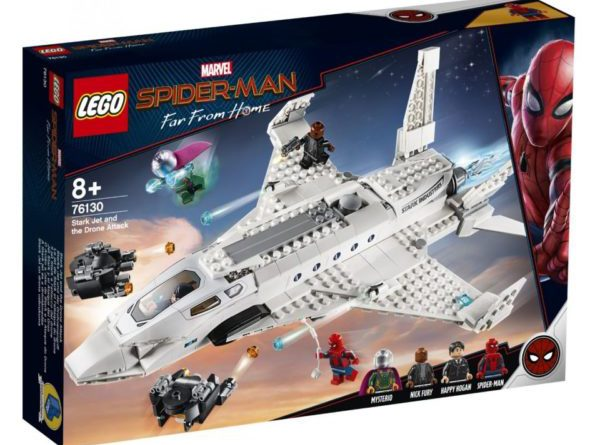 LEGO Marvel Spider Man 76130 Stark Jet And Spider Drone Attack 3 600x445