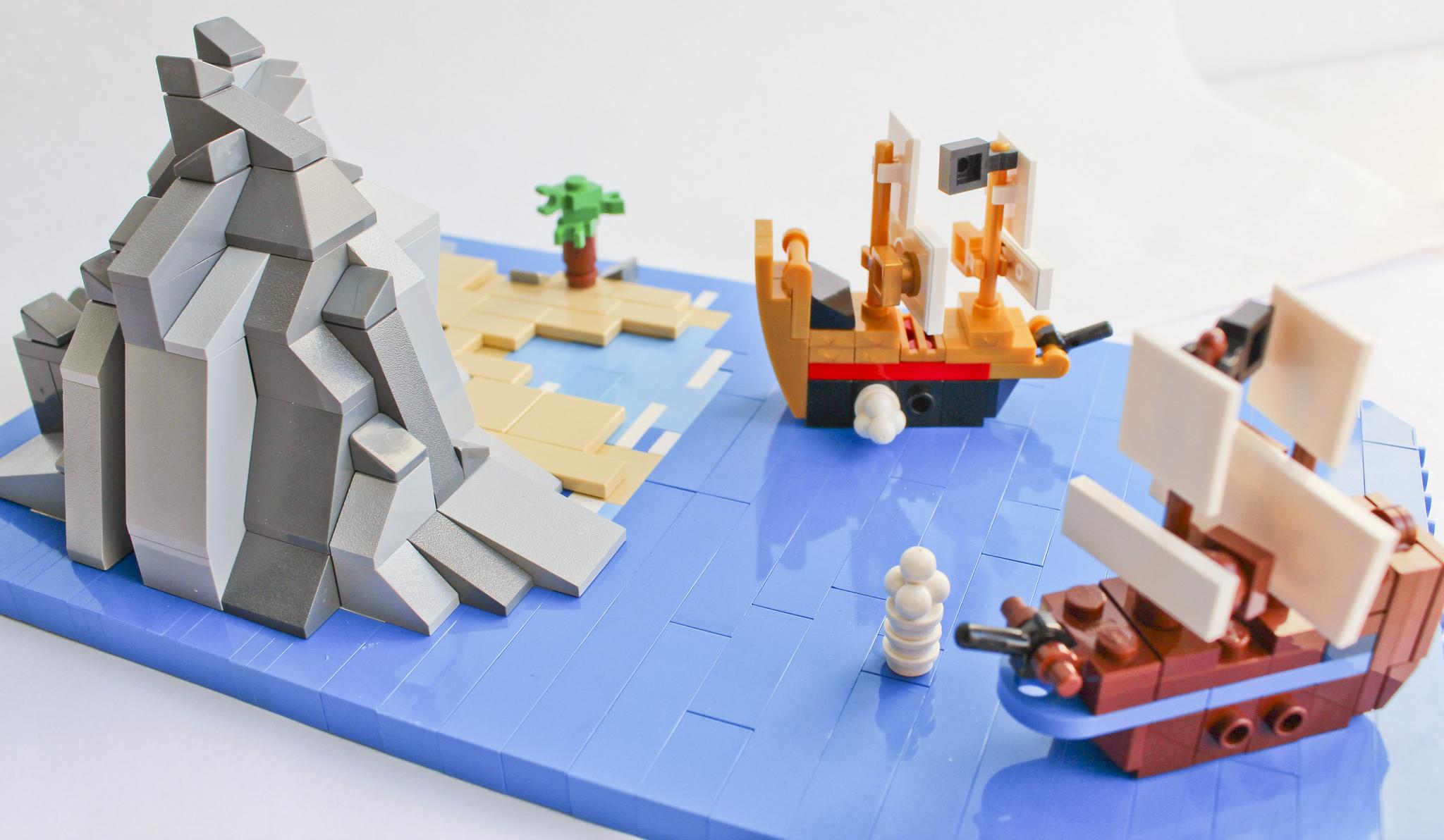 LEGO Microscale Pirates