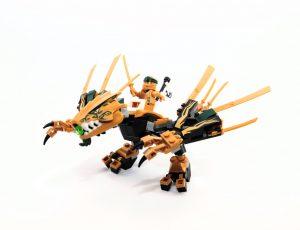 LEGO NINJAGO 70666 The Golden Dragon 5 300x230