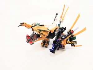 LEGO NINJAGO 70666 The Golden Dragon 9 300x225