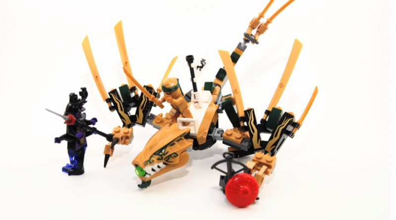 LEGO NINJAGO The Golden Dragon Featured 800 445 800x445