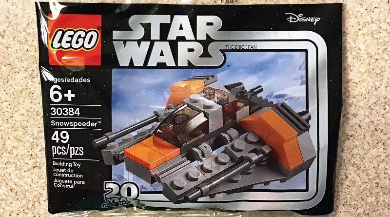 LEGO Star Wars 30384 Snowspeeder Featured 800 445 800x445