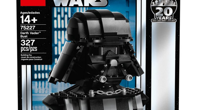 LEGO Star Wars 75227 Darth Vader Bust 8 800x445