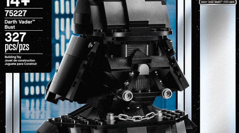 LEGO Star Wars 75227 Darth Vader Bust 9 800x445