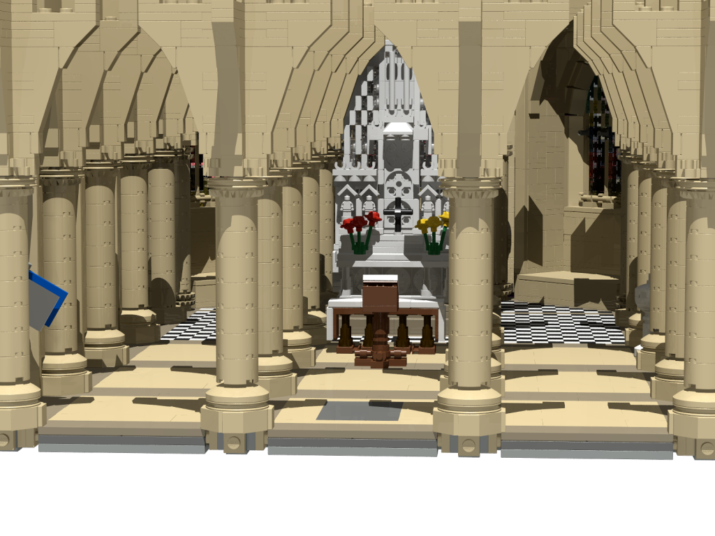 LEGO Cathedral Render 1024x768