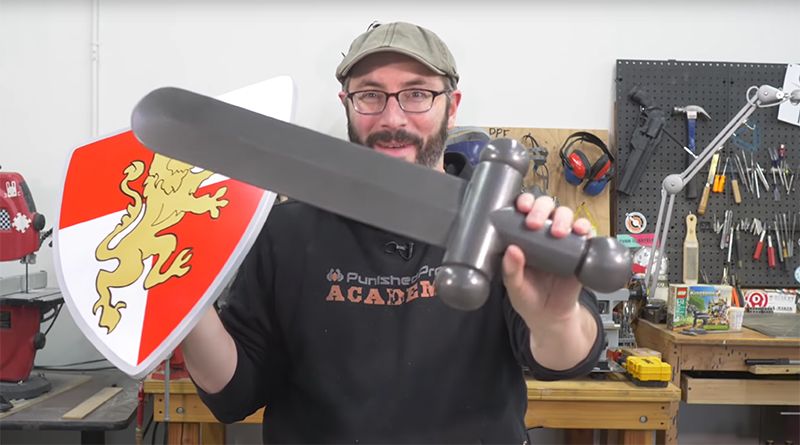 LEGO giant sword shield featured 800 445