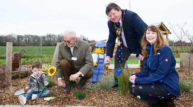 LEGO Sensory Garden Featured