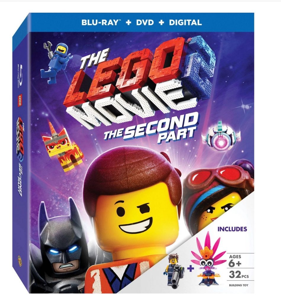 The LEGO Movie 2 Blu Ray Polyba 949x1024