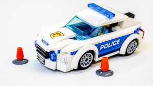 New Police Car With Cones 300x169