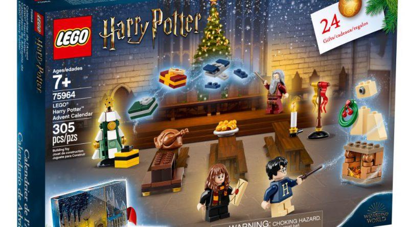 Lego Harry Potter 75964 Advent Calendar Officially Announced