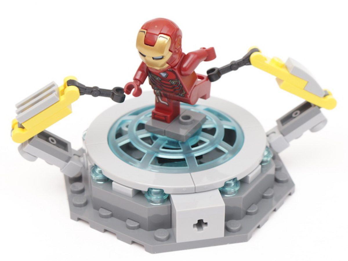 LEGO 76125 Marvel Avengers Iron Man Hall Of Armor Minifigures ONLY