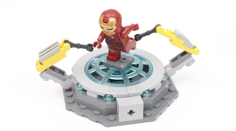 76125 Iron Man Hall Of Armor Title