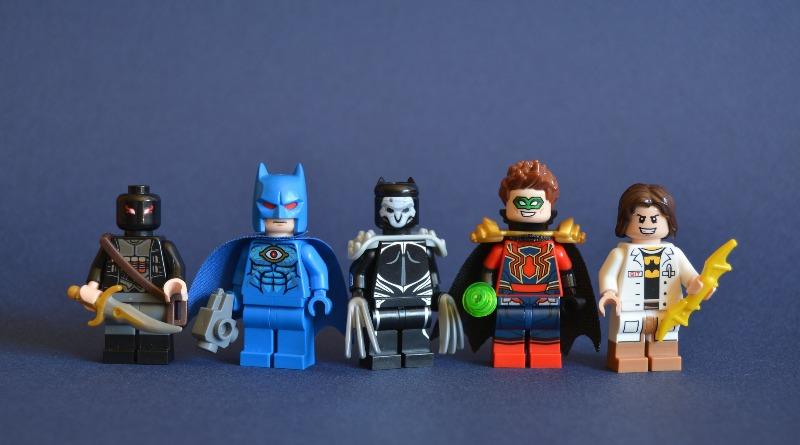 Brick Pic Superheroes DC 1