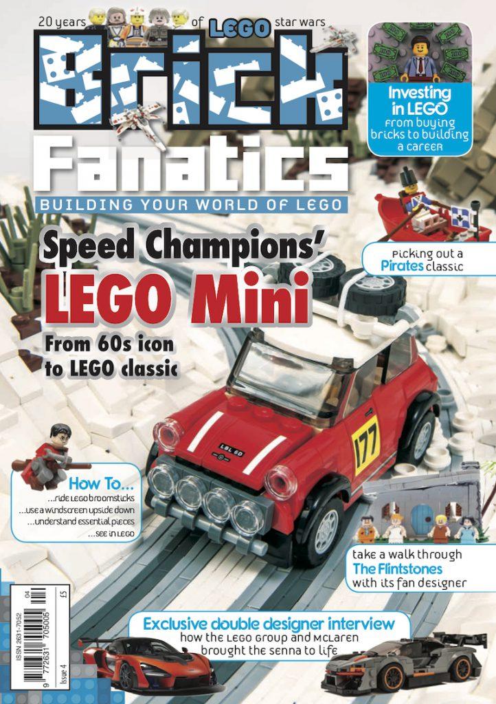 Brick Fanatics Magazine Issue 4 cover