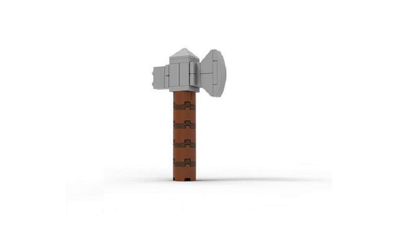 LEGO Avengers Thor Hammer Build Featured