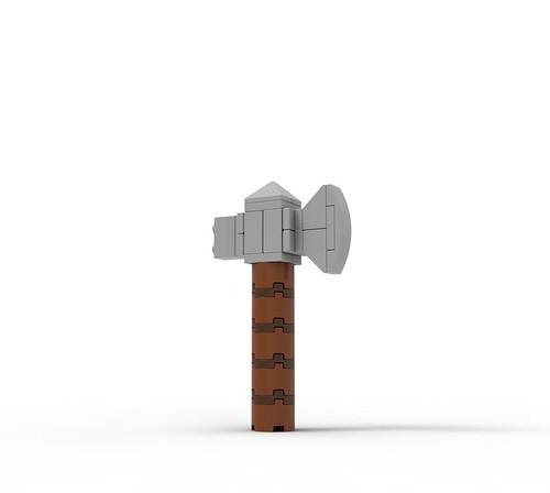 LEGO Avengers Thor Hammer Build