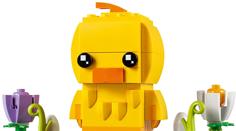 LEGO BrickHeadz 40350 Easter Chick Featured 800 445