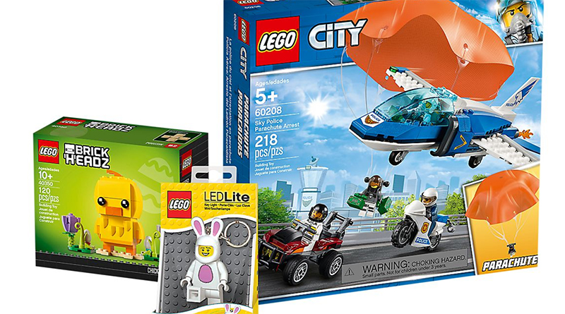LEGO Easter City Bundle Featured 800 445