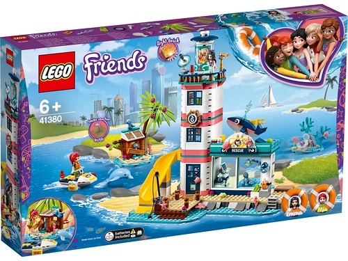 LEGO Friends 41380 Rescue Lighthouse 1