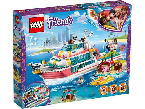 LEGO Friends 41381 Lifeboat 1