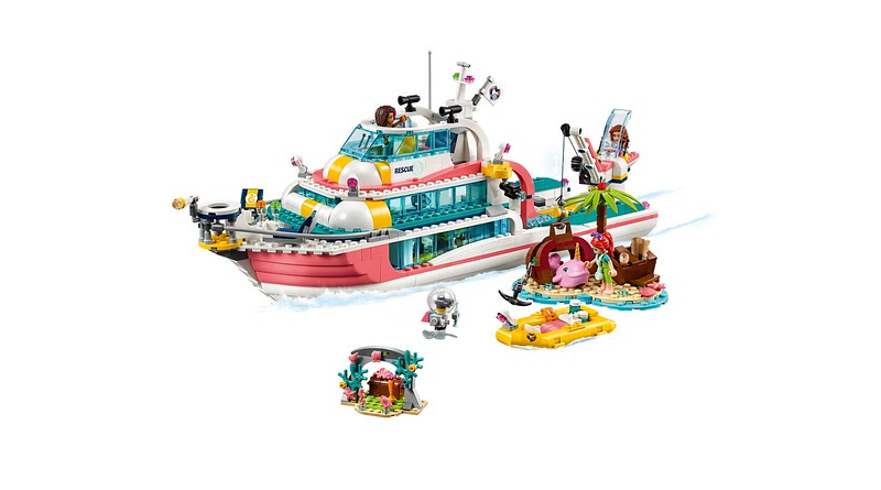 LEGO Friends 41381 Lifeboat Featured 800 445 800x445