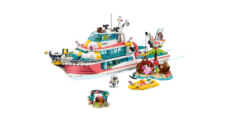 LEGO Friends 41381 Lifeboat Featured 800 445