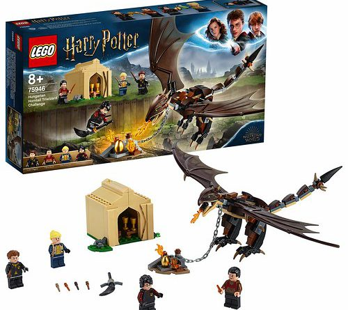 LEGO Harry Potter 75946 Hungarian Horntail Triwizard Challenge 1 500x445
