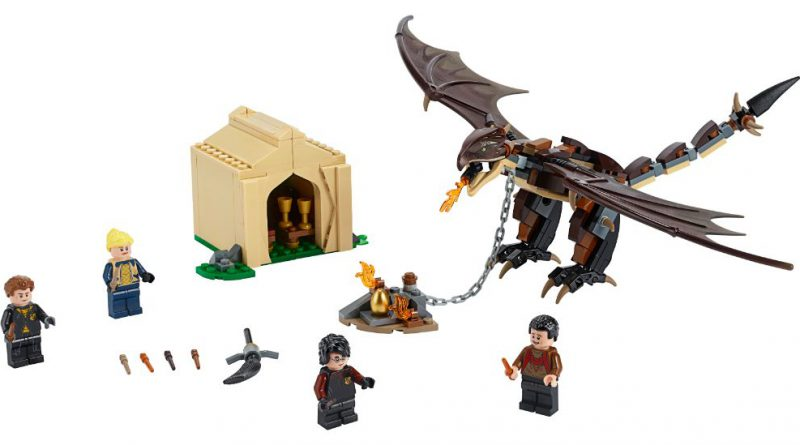 LEGO Harry Potter 75946 Hungarian Horntail Triwizard Challenge 2 1 800x445
