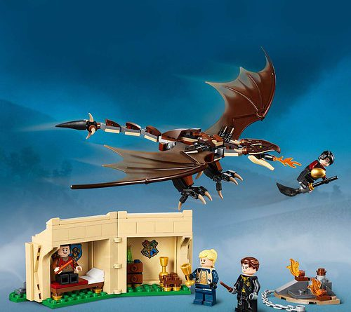 LEGO Harry Potter 75946 Hungarian Horntail Triwizard Challenge 2 500x445