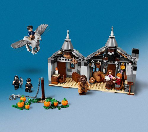 LEGO Harry Potter 75947 Hagrids Hut 3 500x445
