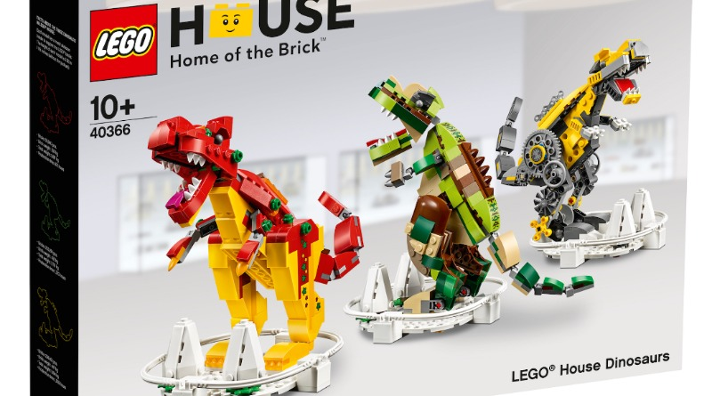LEGO House Dinosaurs Featured