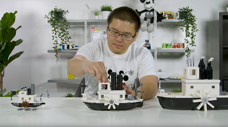 LEGO Ideas 21317 Steamboat Willie designer featured 800 445