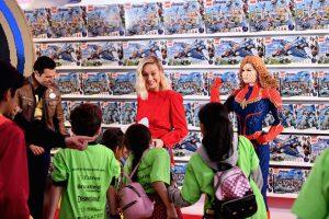LEGO Marvel Avengers Endgame Cast Visit 4 300x200