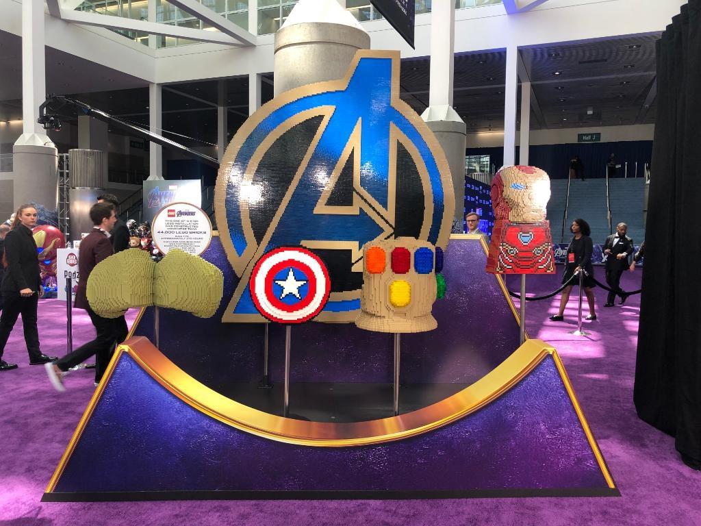 LEGO Marvel Avengers Endgame Premiere Builds 1024x768