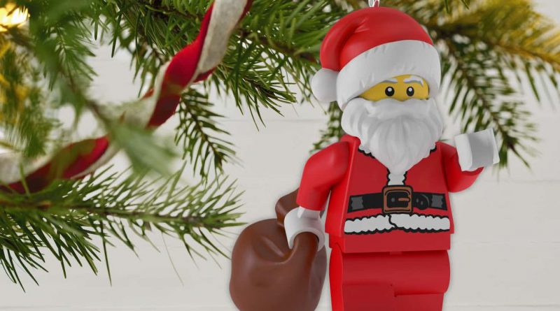 LEGO Santa Claus Minifigure Christmas Ornament 2 800x445