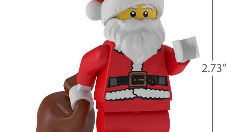 LEGO Santa Claus Minifigure Christmas Ornament 3 800x445