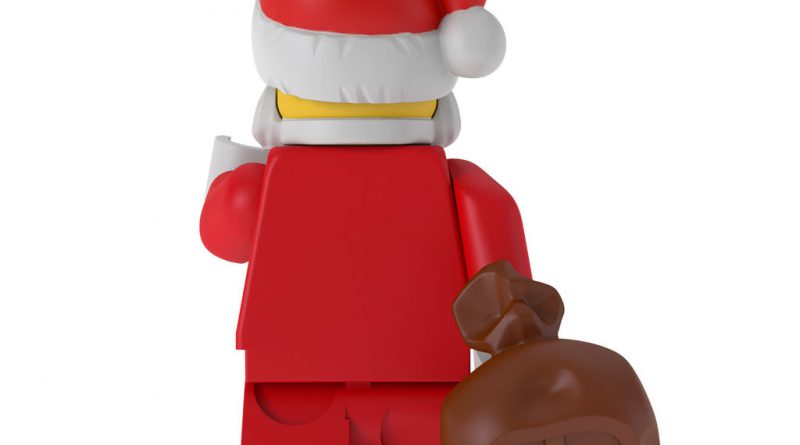 LEGO Santa Claus Minifigure Christmas Ornament 4 800x445
