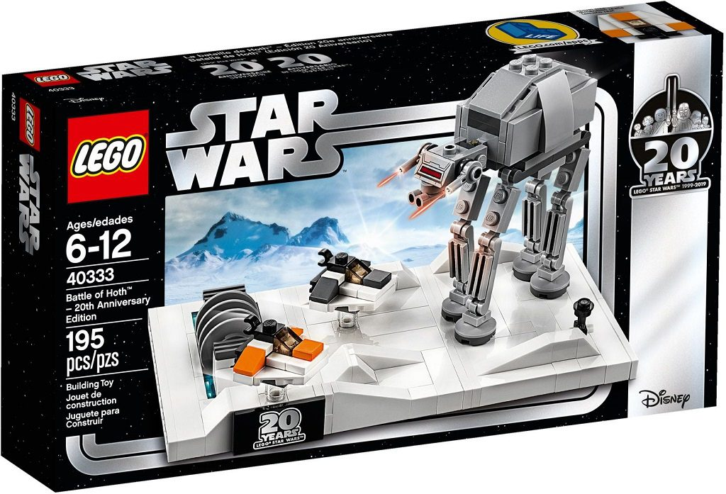 LEGO Star Wars 40333 Battle Of Hoth 20th 1 1024x697