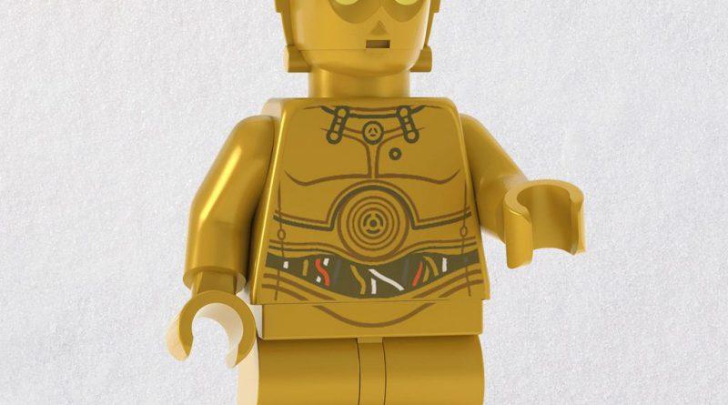 LEGO Star Wars C 3PO Droid Ornament 1