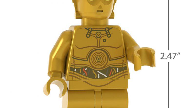 LEGO Star Wars C 3PO Droid Ornament 3