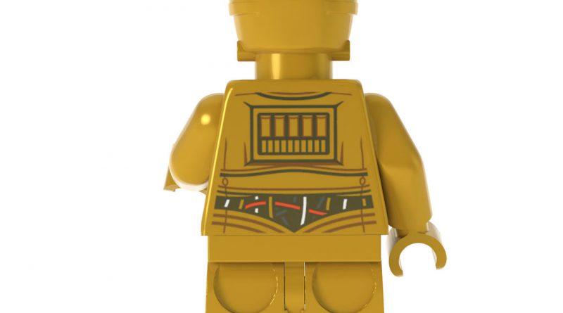 LEGO Star Wars C 3PO Droid Ornament 4