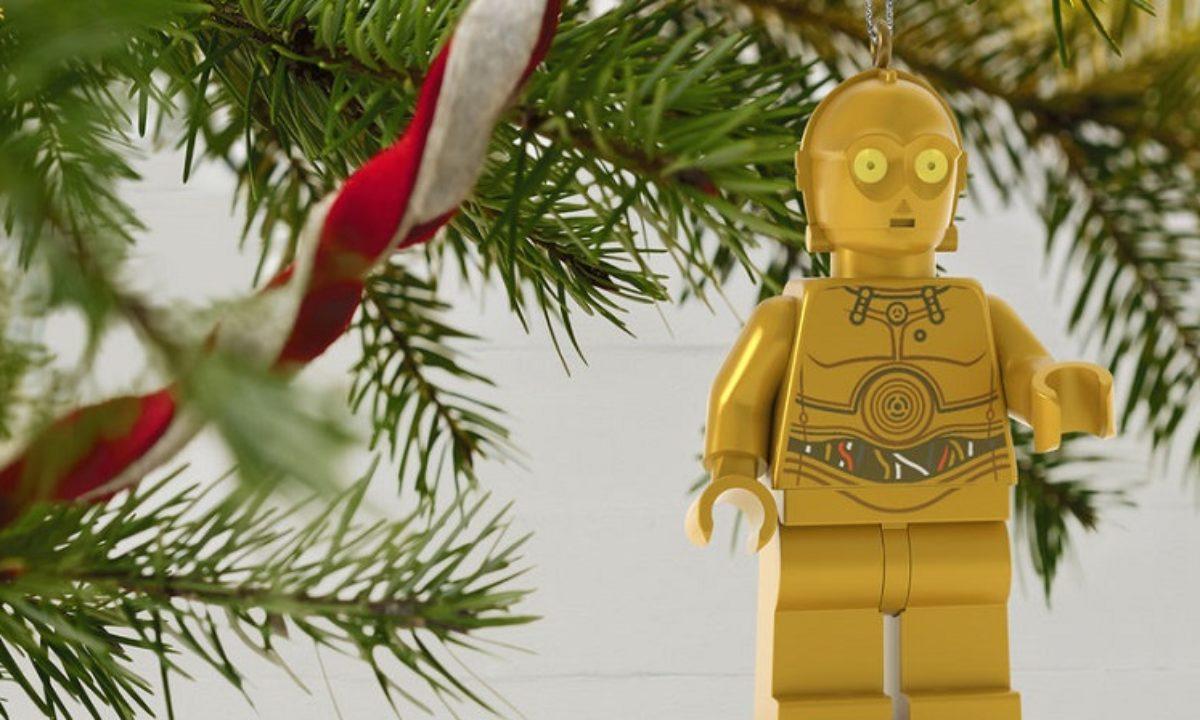 Albero Di Natale 800 Rami.Arrivano Gli Addobbi Per L Albero Di Natale Lego Star Wars C 3po E R2 D2