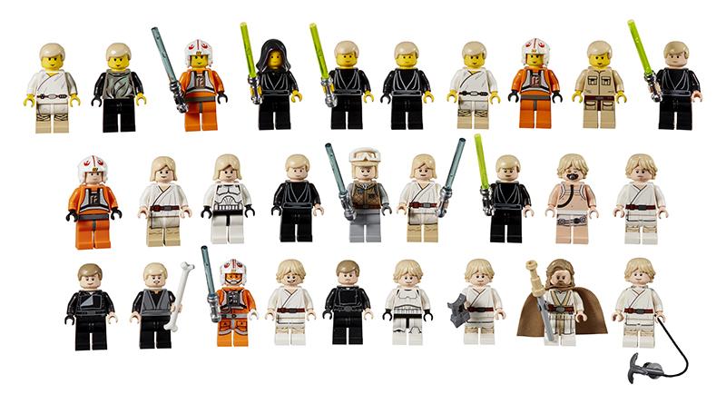 LEGO Star Wars Luke Skywalker Minifigures Featured 800 445