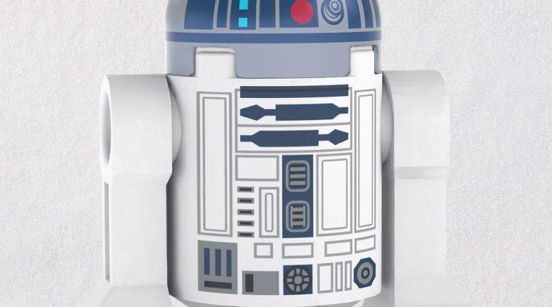 LEGO Star Wars R2D2 Droid Ornament 1