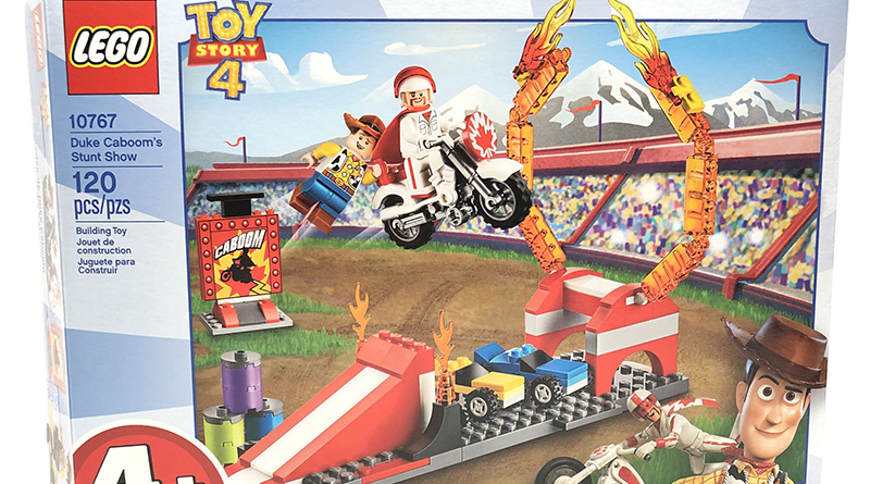 LEGO Toy Story 4 10767 Duke Cabooms Stunt Show Featured 800 445