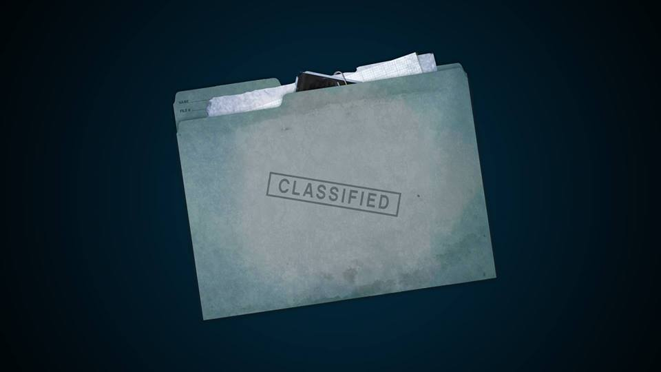 LEGO Classified Folder