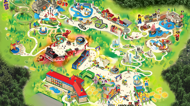 Legoland New York Resort Map And Attractions Revealed