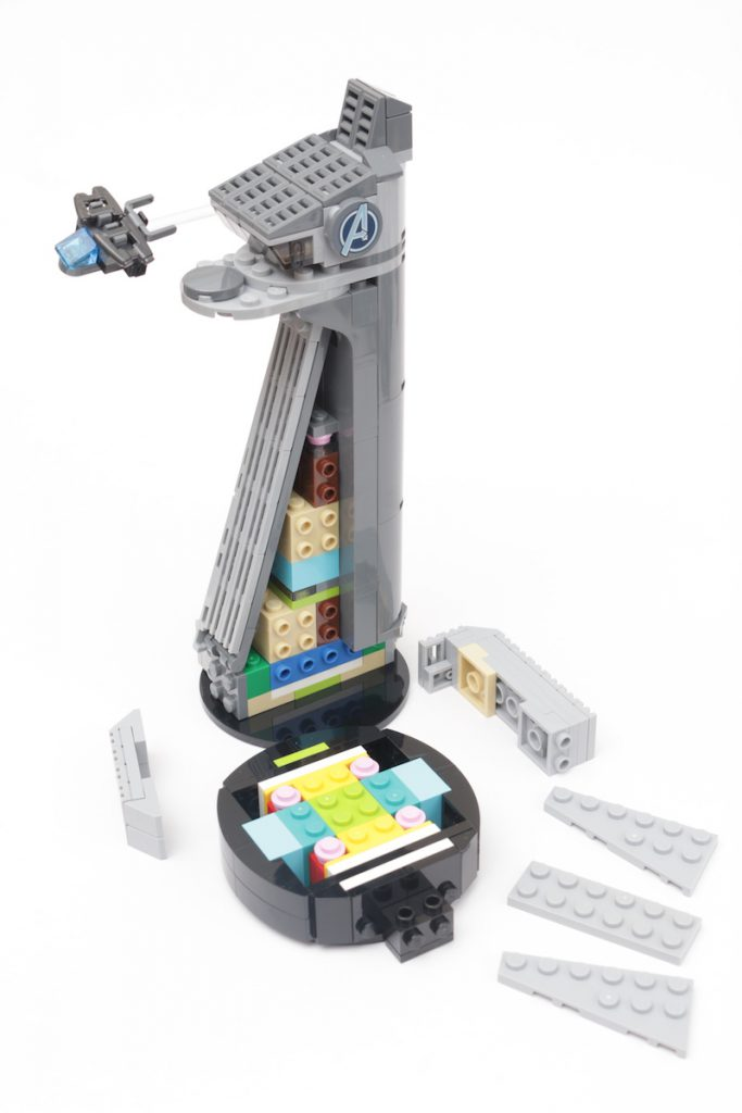 LEGO Marvel 40334 Avengers Tower review 4