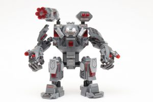 LEGO Marvel 76124 War Machine Buster review 1